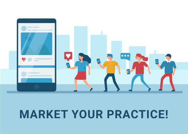 Market Your Practice graphic