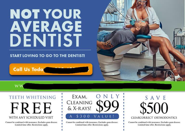Worst Dentist Postcards